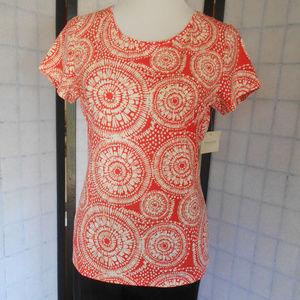 Madison  Print  Shirt NWT